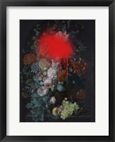 Sprayed Arrangement I Framed Print