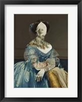 Royal Collage I Framed Print