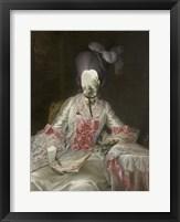 Royal Collage II Framed Print