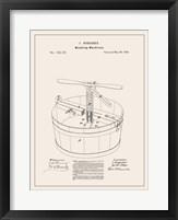 Laundry Patent III Framed Print