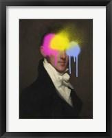 Concealed Portrait I Framed Print