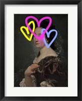 Concealed Portrait II Framed Print