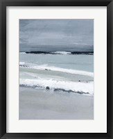 Sea Lines II Framed Print