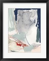 Ash Blue & Crimson II Framed Print