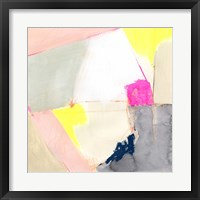 Hot Pink Patch II Framed Print