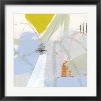 Colorful Crop III Framed Print