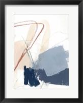 Blue Shuffle IV Framed Print