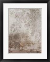 Fresco Collage I Framed Print