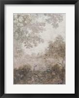 Fresco Collage II Framed Print