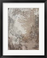 Fresco Collage III Framed Print