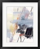 Foggy Swath II Framed Print