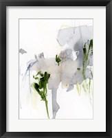 Green and Grey II Framed Print