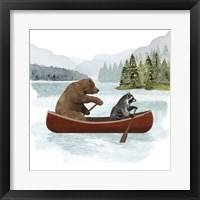 Canoe Trip I Framed Print