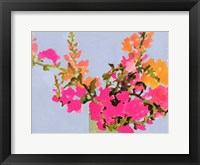Saturated Spring Blooms II Framed Print