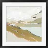 Fading Valley I Framed Print