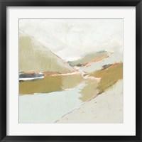 Fading Valley II Framed Print