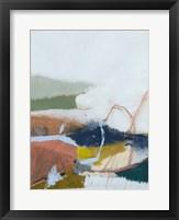 Tidal Patchwork I Framed Print