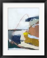 Tidal Patchwork II Framed Print