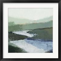Riverbend Landscape II Framed Print