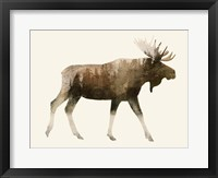 The Wilderness III Framed Print