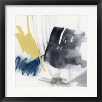 Lemon and Indigo II Framed Print