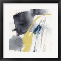 Lemon and Indigo III Framed Print