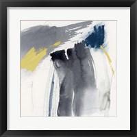 Lemon and Indigo IV Framed Print