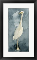 Simple Egret II Framed Print
