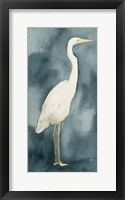 Simple Egret III Framed Print