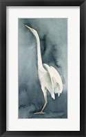 Simple Egret IV Framed Print