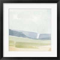 Pastel Slopes II Framed Print