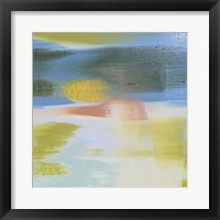 Rainbow Scrape I Framed Print