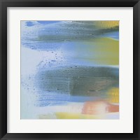 Rainbow Scrape II Framed Print