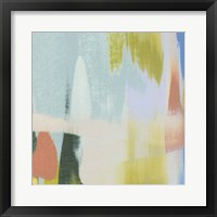 Rainbow Scrape IV Framed Print