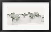 Scenic Scribble I Framed Print