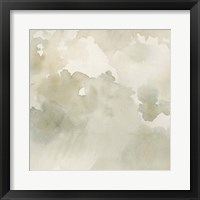 Warm Clouds Abstract II Framed Print