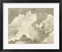 Antique Sky I Framed Print