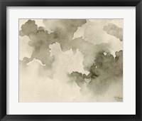 Antique Sky II Framed Print