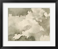 Antique Sky III Framed Print