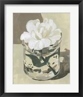 Neutral Bloom II Framed Print