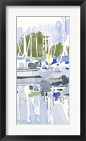 Sailboat Reflections I Framed Print
