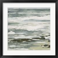 Low Tide I Framed Print
