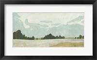 Farmland Study II Framed Print