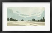 Farmland Study III Framed Print