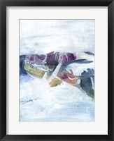Gliding on Ice I Framed Print