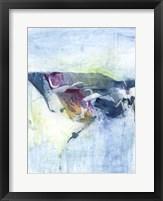 Gliding on Ice II Framed Print