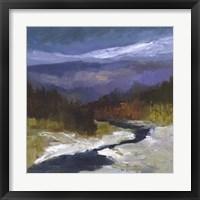 Mountain Colors I Framed Print