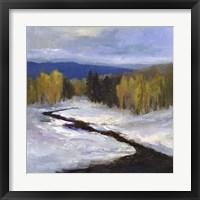 Mountain Colors II Framed Print