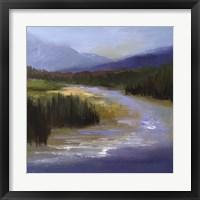 Mountain River II Framed Print