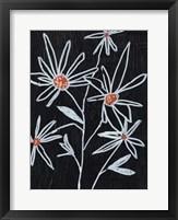 Flower Doodle I Framed Print